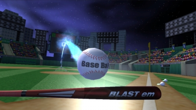 Screen ze hry VR Baseball