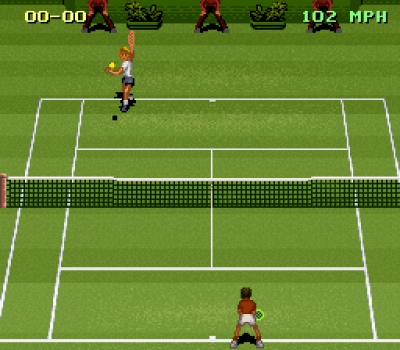 Screen ze hry Jimmy Connors Pro Tennis Tour