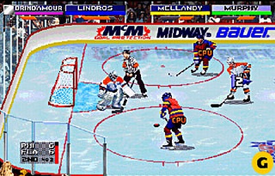 Screen NHL Open Ice: 2 On 2 Challenge