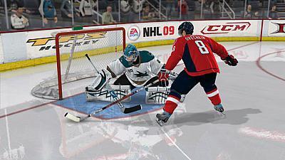 Screen ze hry NHL 09