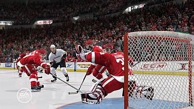 Screen ze hry NHL 09