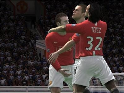 Screen ze hry FIFA Soccer 09