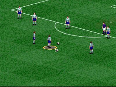 Screen ze hry FIFA Soccer 96