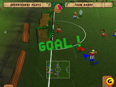 Screen LEGO Soccer Mania