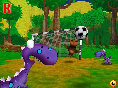 Screen Pet Soccer