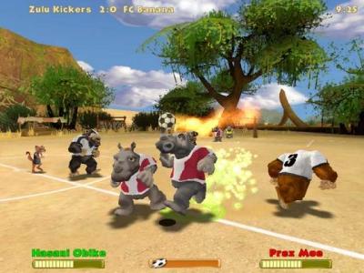 Screen ze hry Crazy Kickers