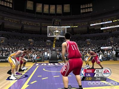 Screen NBA Live 2005