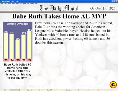 batting average and babe ruth An in-depth analysis of babe ruth's hitting statistics babe ruth's legacy babe's impact on the game of baseball batting average: rbi runs batted in: tb.