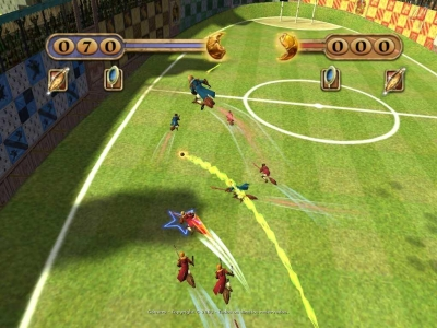 Screen Harry Potter: Quidditch World Cup