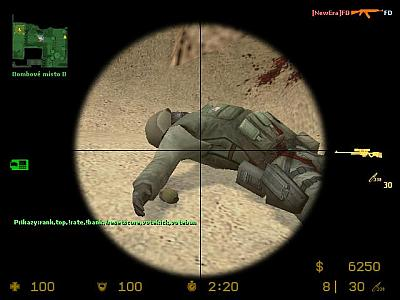 Screen ze hry Counter-Strike: Source
