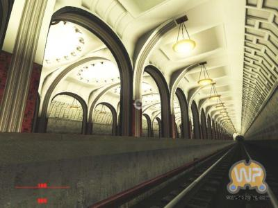Screen ze hry Stalin Subway, The