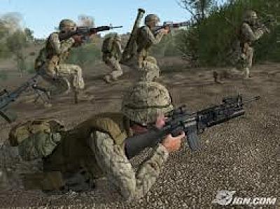 Screen ze hry ArmA: Combat Operations