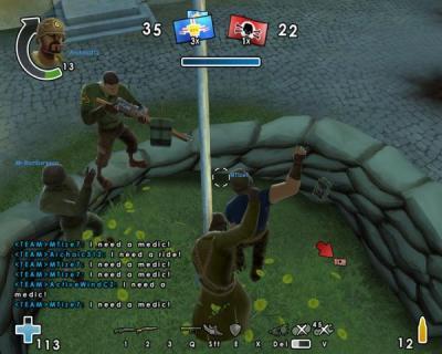 Screen ze hry Battlefield Heroes