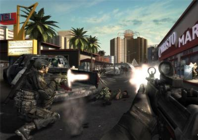 Screen ze hry Tom Clancy´s Rainbow Six: Vegas 2