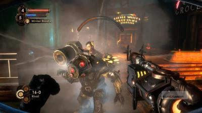 Screen ze hry Bioshock 2