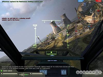 Screen ze hry Battlefield 2