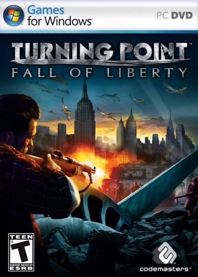 Obal hry Turning Point: Fall of Liberty