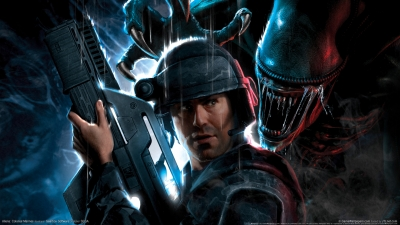 Artwork ke hře Aliens: Colonial Marines