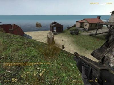 Screen ze hry Half-Life 2: Deathmatch