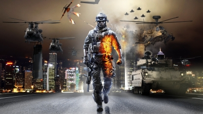 Artwork ke hře Battlefield 3