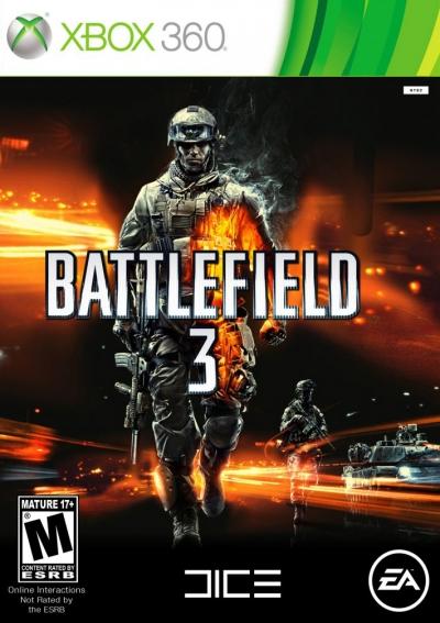 Obal hry Battlefield 3