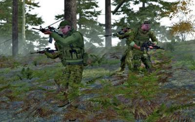 Screen ze hry ArmA 2