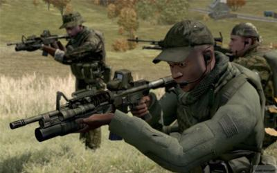 Screen ze hry ArmA 2
