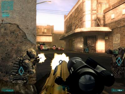 Screen ze hry Tom Clancy´s Ghost Recon Advanced Warfighter 2
