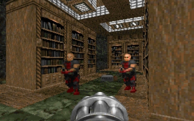 Screen ze hry Master Levels for Doom II