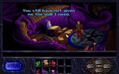 Screen ze hry Legend of Kyrandia