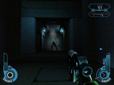 Screen ze hry Judge Dredd: Dredd vs. Death