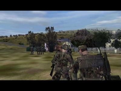 Screen ze hry Operation Flashpoint