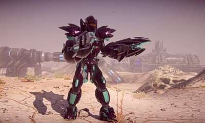 Screen ze hry PlanetSide 2