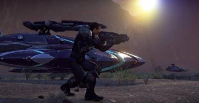 Screen ze hry PlanetSide 2