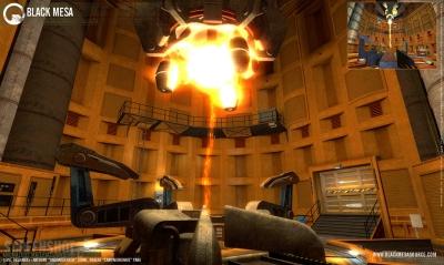 Screen ze hry Black Mesa