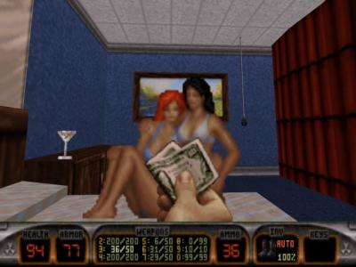 Screen ze hry Duke Nukem 3D: Plutonium Pak