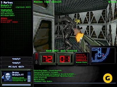 Screen Aliens Online