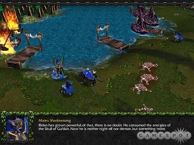 Screen Warcraft III: The Frozen Throne