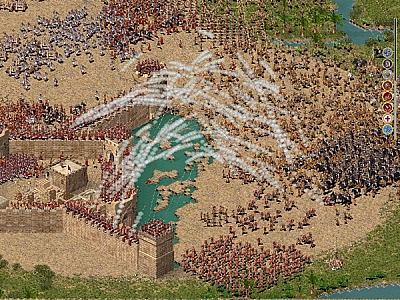 Screen ze hry Stronghold Crusader Extreme