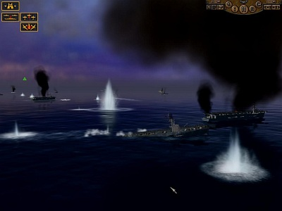 Screen Pacific Storm: Allies