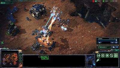 Screen ze hry StarCraft II: Wings of Liberty