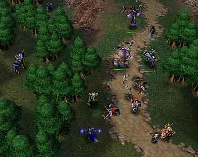 Screen ze hry Warcraft III: Battle Chest