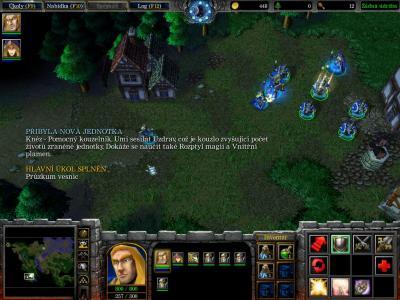 Screen ze hry Warcraft III: Reign of Chaos