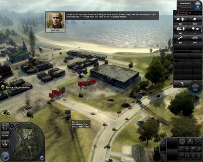Screen ze hry World in Conflict