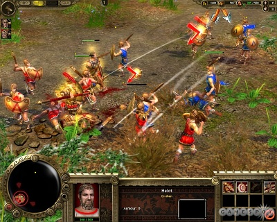 Screen Great War Nations: The Spartans