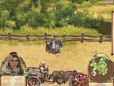 Screen ze hry Settlers VI: Rise of an Empire, The