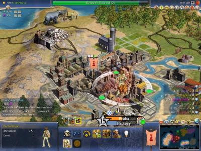 Screen ze hry Civilization IV