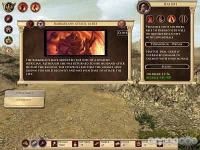Screen Imperium Romanum
