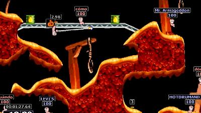Screen ze hry Worms Armageddon
