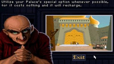 Artwork ke hře Dune II: The Building of a Dynasty